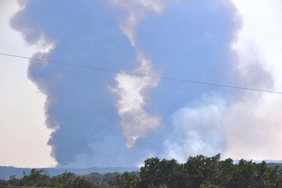 camp bullis fires