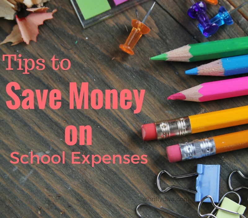 how to save money on school expenses