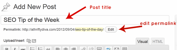 Get the most of SEO with your title