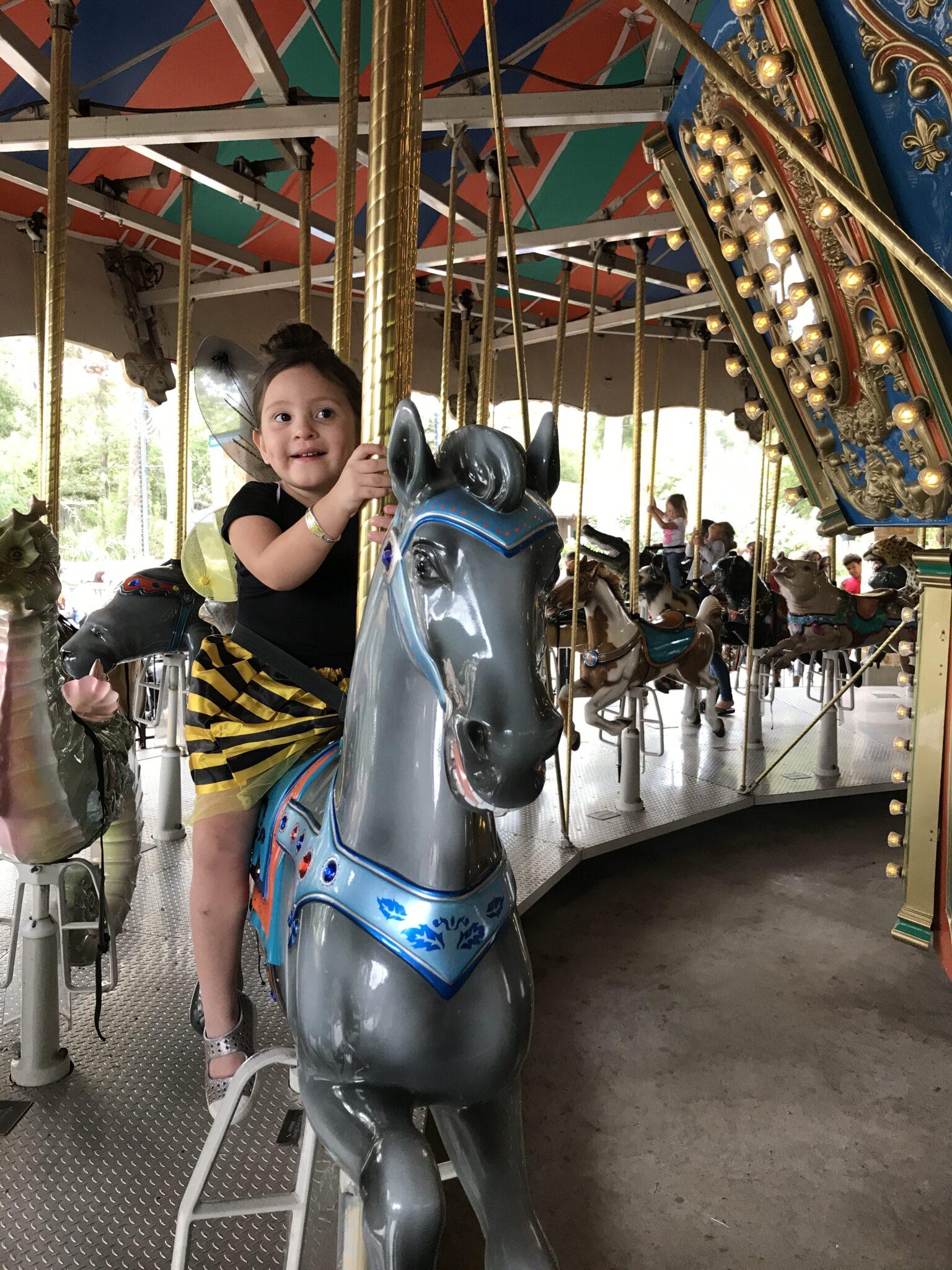 zoo boo carousel ride