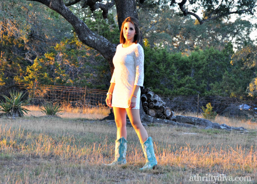 Women's Turquoise Fleur de Lis Cowboy boots  from Country Outfitter