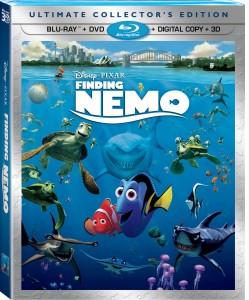 Finding Nemo 3D has been released on Blu-ray hi-def