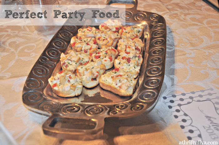 perfect party food  #MealsTogether