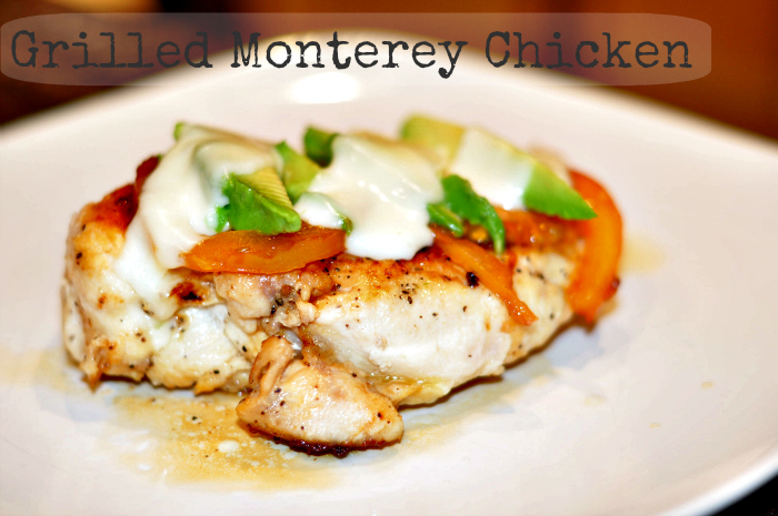 grilled pollo monterey chicken