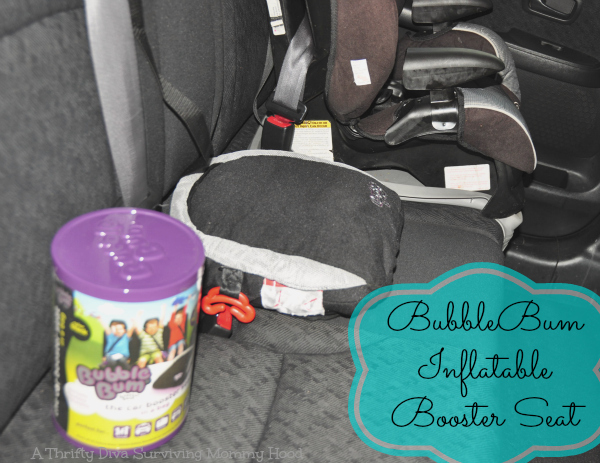 BubbleBum Travel booster Seat