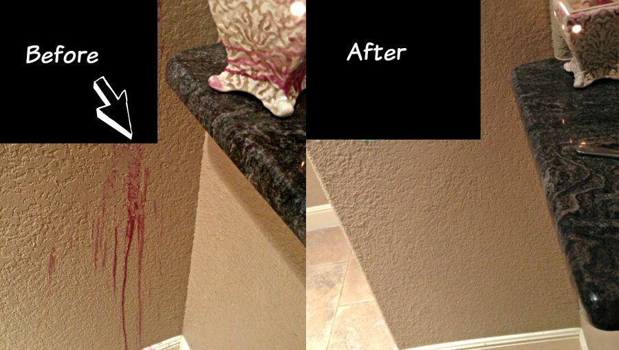 How To Easily Remove Wax From Walls Safely
