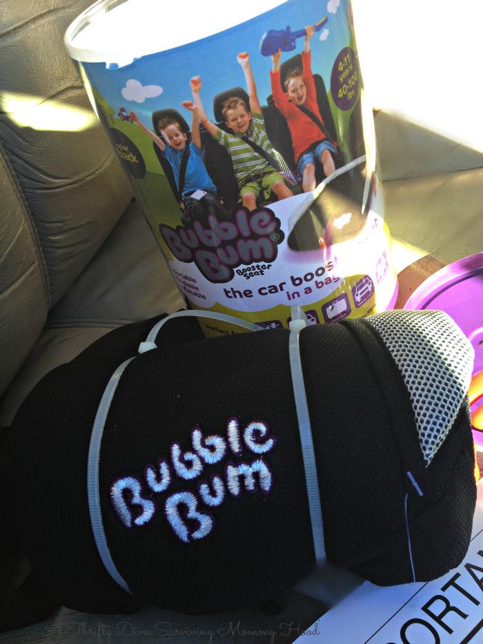 bubblegum Travel booster Seat