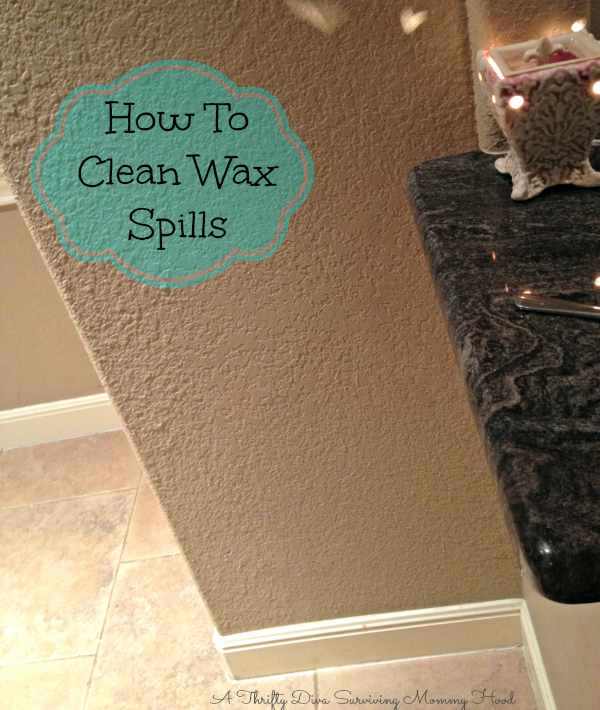 hoe to remove wax from walls safely