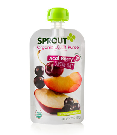 sprout toddler puree