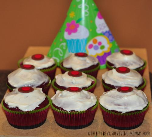 velvet cupcake sprinkles