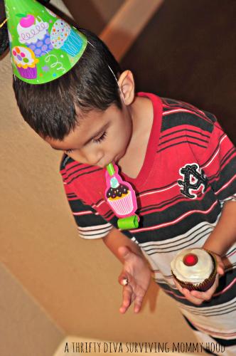 velvet cupcake sprinkle party
