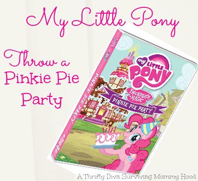 My little Pony Throw a Pinkie Pie Party