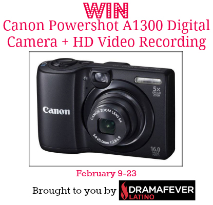 Drama Fever Canon Camera Giveaway