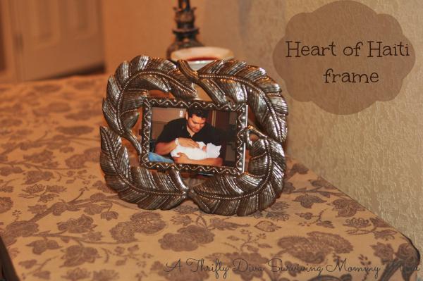 Valentine Heart of Haiti frame #HeartofHaitiLBC