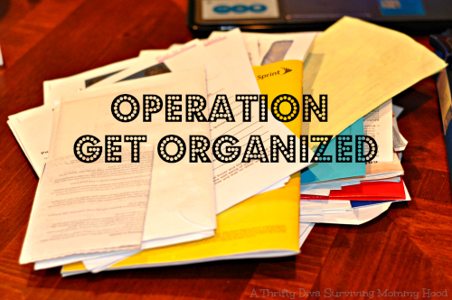 getting organized with Staples