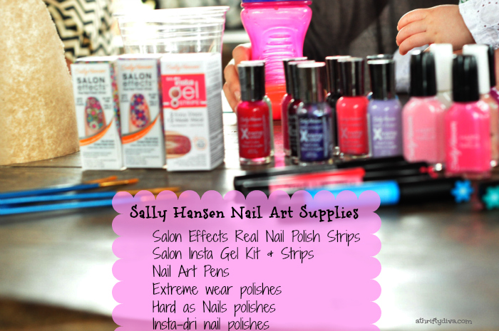 Sally Hansen I Heart Nail Art Walgreens Iheartmynailart Hello Spring Nails Party Supplies