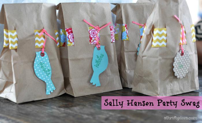 Sally Hansen I Heart Nail Art Walgreens #IHeartMyNailArt Hello Spring Nails Party Swag Bags