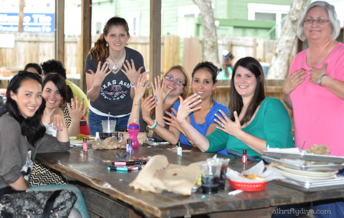 Sally Hansen I Heart Nail Art Walgreens #IHeartMyNailArt Hello Spring Nails Party