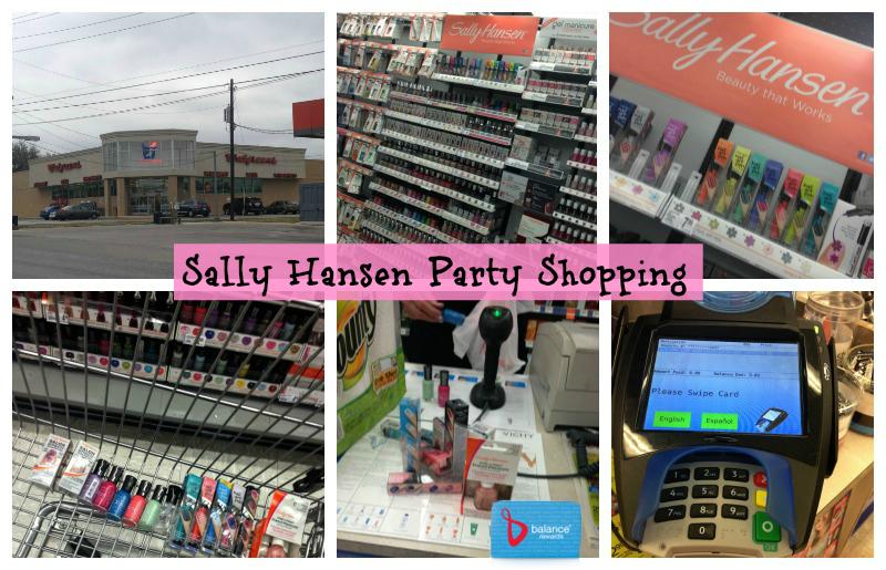 Sally Hansen I Heart Nail Art #IHeartMyNailArt Hello Spring Nails Party  Walgreens shopping
