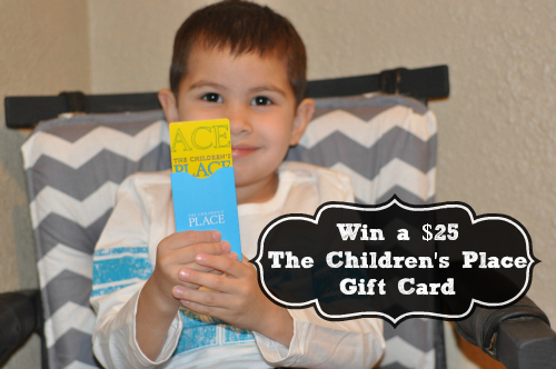 The Childrens place $25 giveaway