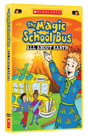 all about earth the magic school bus new dvd perfect for earth day