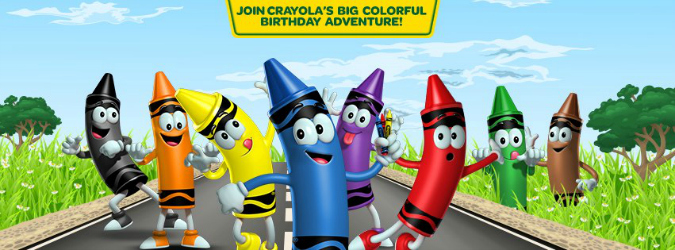 crayola crayon birthday bash