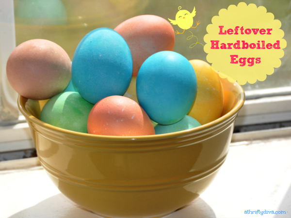What to do with Hard Boiled Eggs?  After Easter recipes