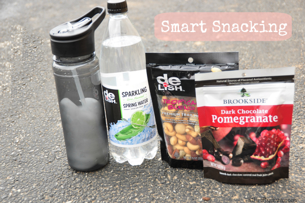 Getting in Shape after Pregnancy try smart snacking