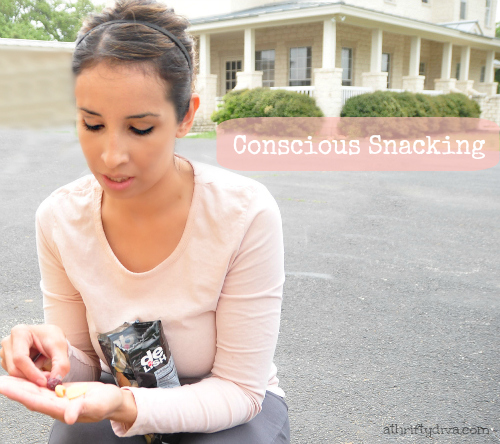Getting in Shape after Pregnancy conscious snacking