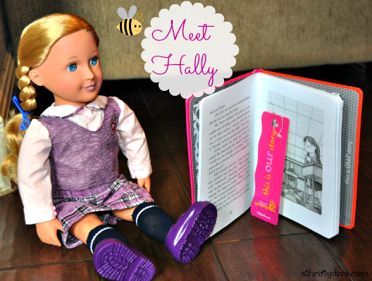 Our Generation Dress Up Dolls & Accessories  meet hally