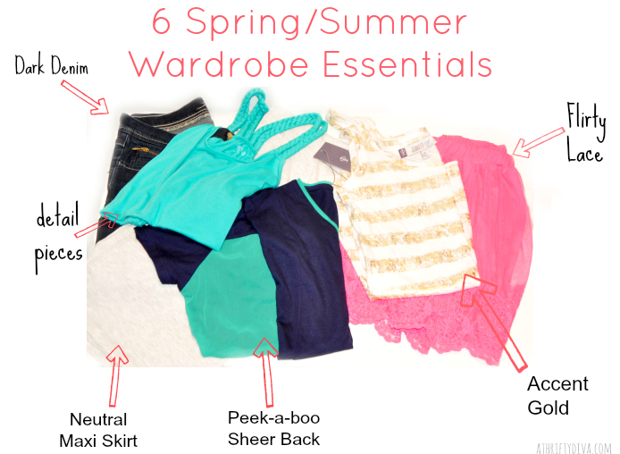 Kohl's Spring to Summer 6 Wardrobe Essentials