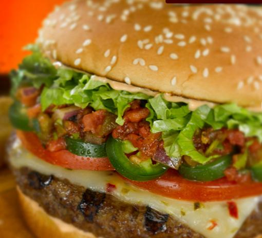 Red Robin 5 alarm burger