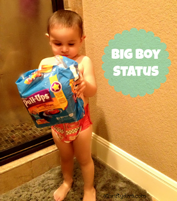 Potty Training Big Boy Status