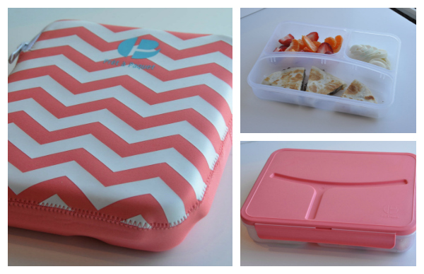 Pret a Paquet stylish lunch packs at target