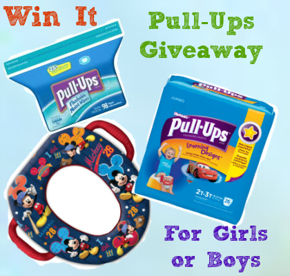 Potty Training Pull Ups Giveaway