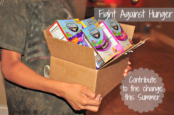 Fight Against Hunger with Odwalla Champion for Kids, simple service project