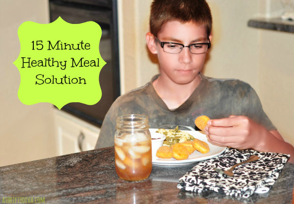 EPIC The Movie and a Healthy Meal Solution a tyson Chicken Nugget dinner 15 minute meal solution