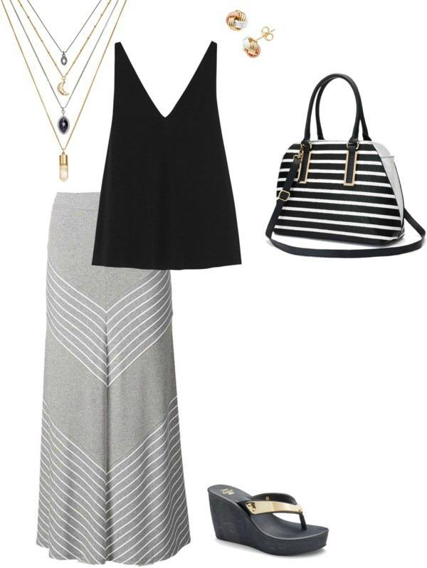 Kohl's Summer Wardrobe Essentials maxi style