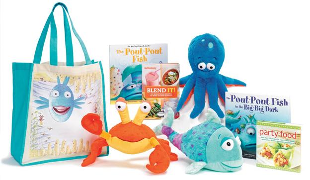 Kohls Cares Summer 2013 Merchandise Pout Pout Fish