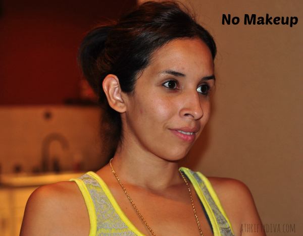 No makeup for a Fresh Faced Nude Summer Makeup Trend #RimmelRealBeauty #shop #cbias