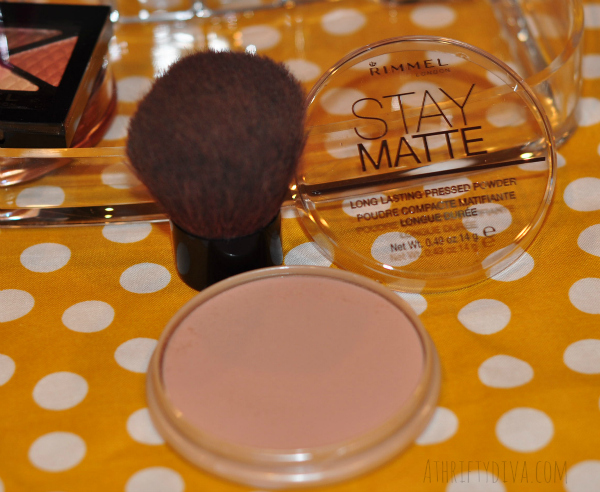 Fresh Faced Nude Summer Makeup Trend with Rimmel Stay Matte powder #RimmelRealBeauty #shop #cbias