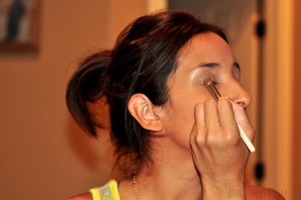 Fresh Faced Nude Summer Makeup Trend rimmel eye shadow #RimmelRealBeauty #shop #cbias