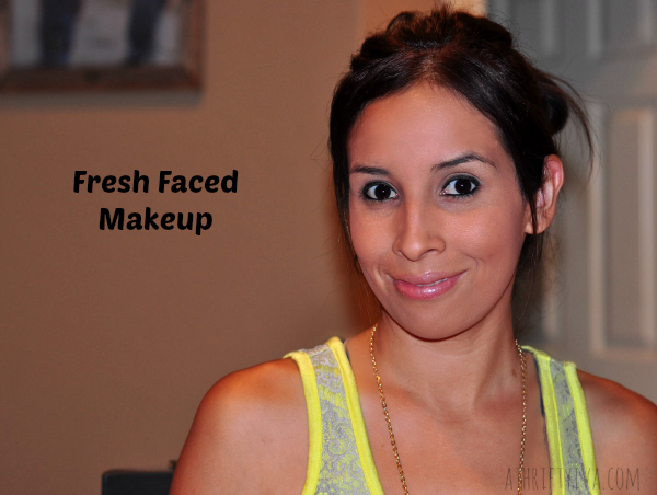Fresh Faced Nude Summer Makeup Trend Rimmel Products #RimmelRealBeauty #shop #cbias