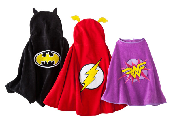 Justice League Target towel  Capes
