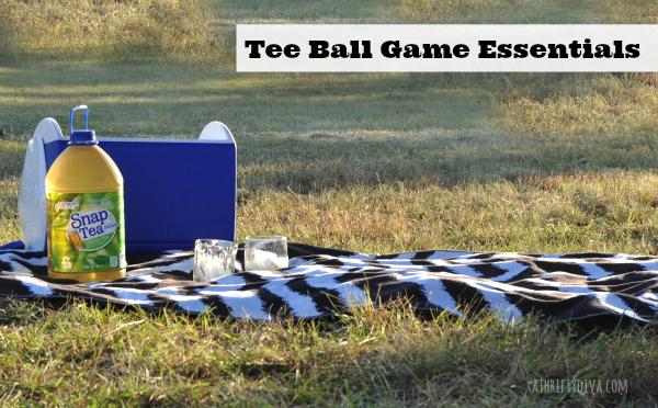 Tee ball game essentials Snapple SnapTea #SnapTea #cbias #shop
