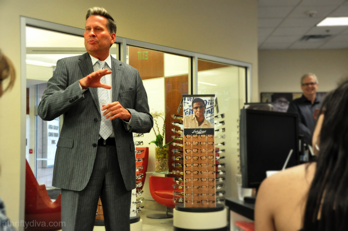 Dr. Safner VP of Professional Services of  Visionworks Win a $100 Back to School Gift Card