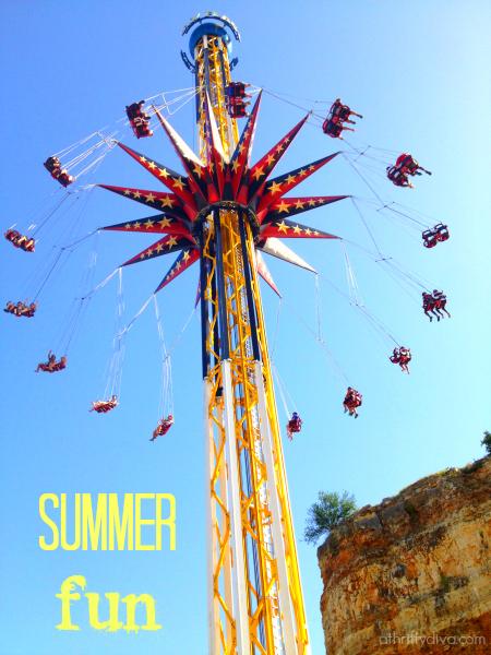 Summer Fun at Fiesta Texas