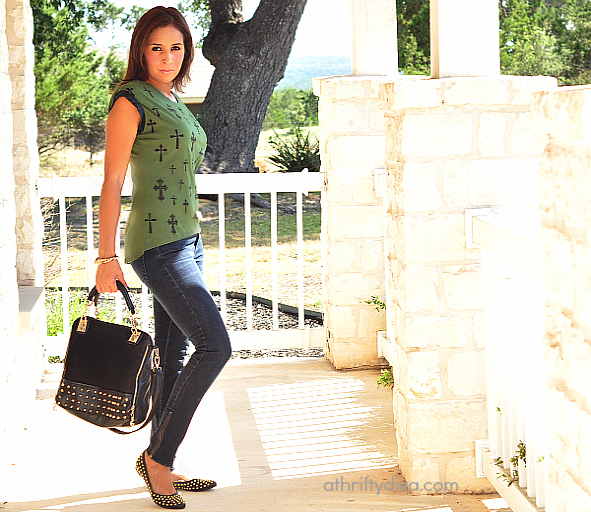 Cross top and affordable fashion at Sears style Sears fashion #shop