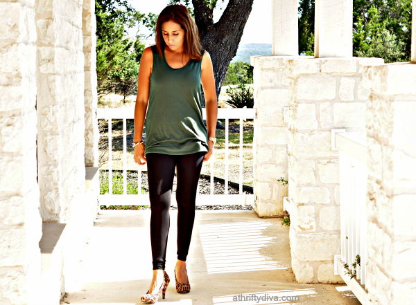 Army Green  top and affordable fashion at Sears style Sears fashion #shop