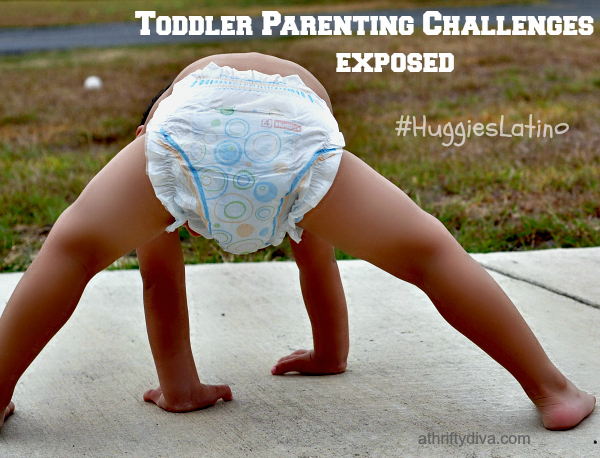 Toddler Parenting Challenges Exposed #HuggiesLatino